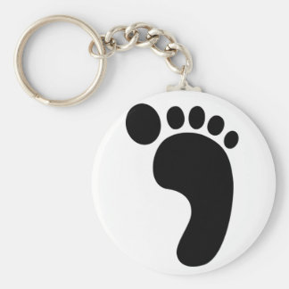 Foot Print Key Chain