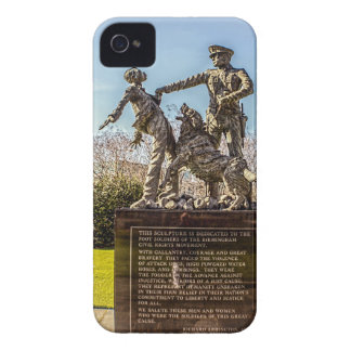 Foot Soldiers in Kelly Ingram Park Case-Mate iPhone 4 Cases