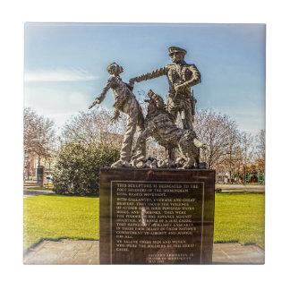 Foot Soldiers in Kelly Ingram Park Ceramic Tile