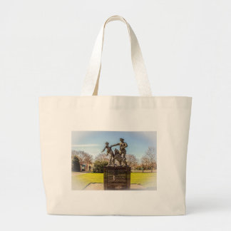 Foot Soldiers in Kelly Ingram Park Large Tote Bag