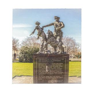 Foot Soldiers in Kelly Ingram Park Notepad