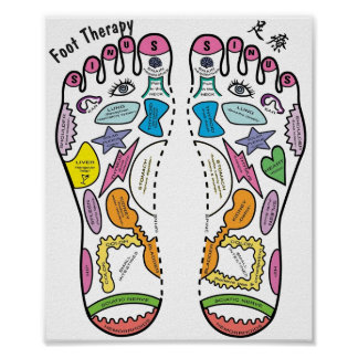 Foot Therapy/足療 Poster