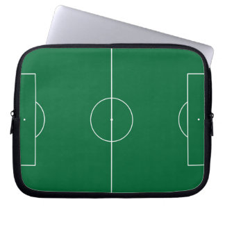 Footbal for computers laptop computer sleeve
