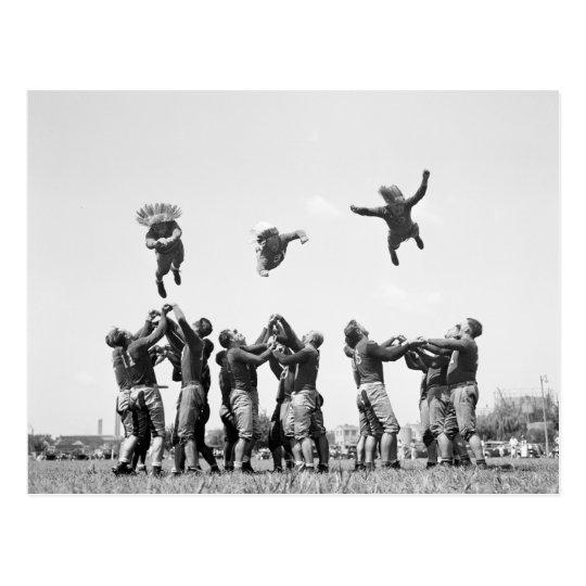 Football, 1930s postcard