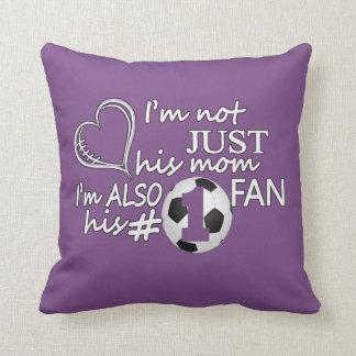 Football #1 Mom Cushion