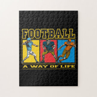 Football A Way of Life Puzzles