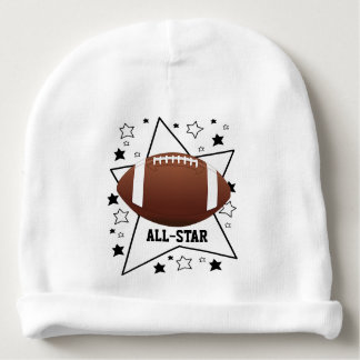 Football All-Star Design Infant Hat Baby Beanie