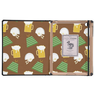 Football and Beer Sports iPad Case