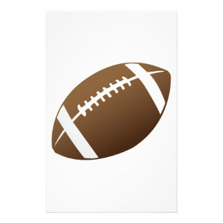 Football and Football Teams Graphic Stationery Design