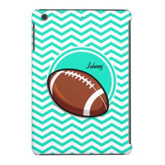 Football Aqua Green Chevron iPad Mini Cases