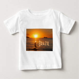 Football at sunset baby T-Shirt