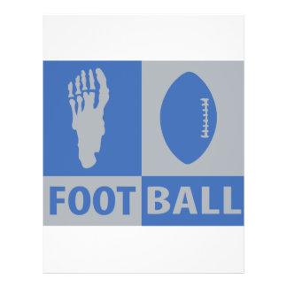 football bizarre icon flyers