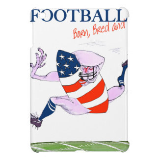 Football born bred proud, tony fernandes iPad mini cover