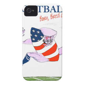 Football born bred proud, tony fernandes iPhone 4 cover