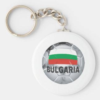 Football Bulgaria Basic Round Button Key Ring