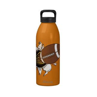 Football Burster Water Bottle 32 oz