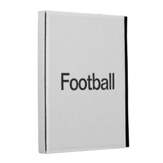 Football iPad Folio Case