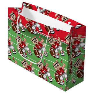 FOOTBALL CAT 1 GIFT BAG LARGE