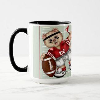 FOOTBALL CAT Combo Mug