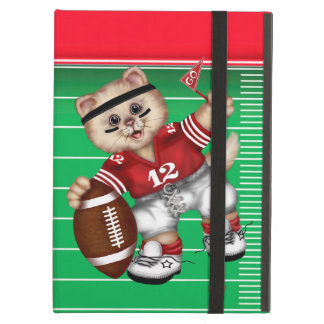 FOOTBALL CAT CUTE2 iPad Air 2 Cover For iPad Air