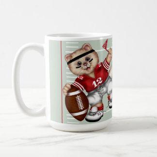 FOOTBALL CAT CUTE FUN  Classic Mug