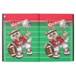 "FOOTBALL CAT CUTE iPad Pro 2 Boy iPad Pro 12.9"" Case"