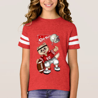 FOOTBALL CAT Girls' Football Shirt 10