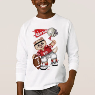 FOOTBALL CAT Kids' Basic Long Sleeve T-Shirt