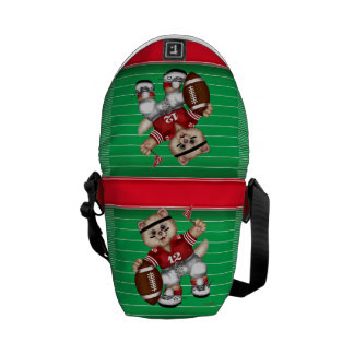 FOOTBALL CAT Rickshaw Mini Zero Messenger Bag 2