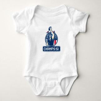 Football Champs 51 New England Retro Baby Bodysuit