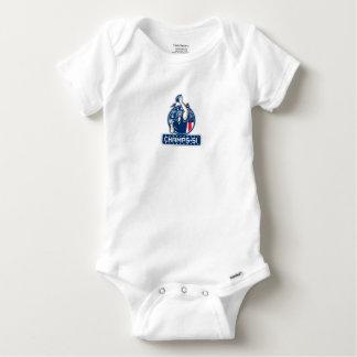 Football Champs 51 New England Retro Baby Onesie