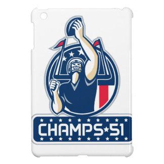 Football Champs 51 New England Retro Case For The iPad Mini
