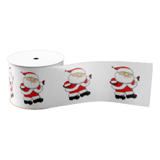 football Christmas gift idea Grosgrain Ribbon