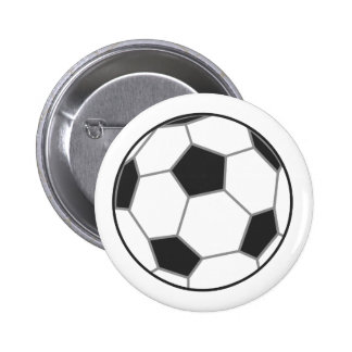 Football Close up Button Badge