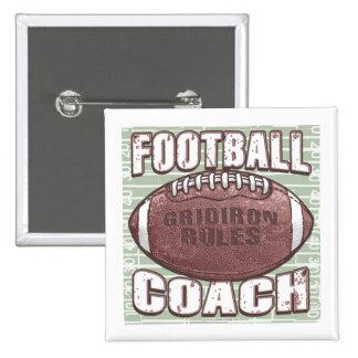 Football Coach Button