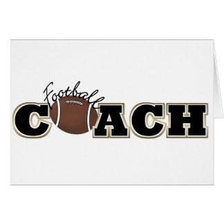 Football Coach Card