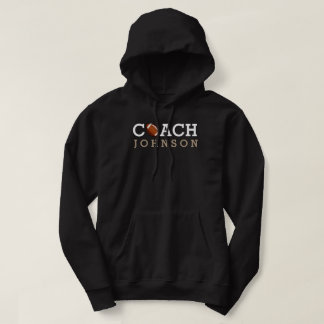 Football Coach Custom Name Hoodie