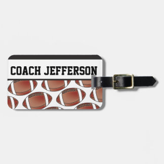 Football Coach | DIY Text Luggage Tag