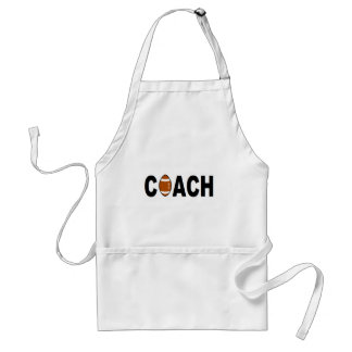 Football Coach Personalized Standard Apron