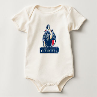 Football Conference Champions New England Retro Baby Bodysuit