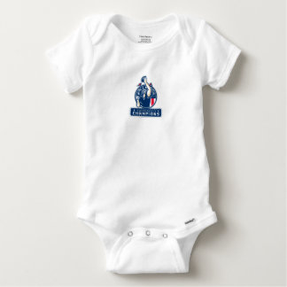 Football Conference Champions New England Retro Baby Onesie