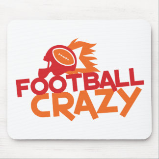 football crazy mouse pads