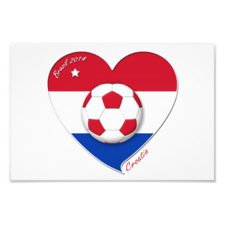"Football ""CROATIA"" Soccer Team Soccer the Croatia  Photograph"