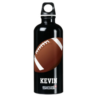 Football Custom Water Bottle