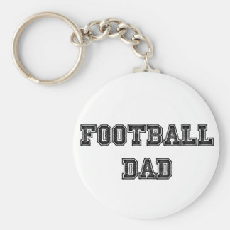 Football Dad Key Chain