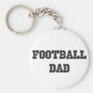 Football Dad Key Chain