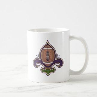 Football de Lis Basic White Mug