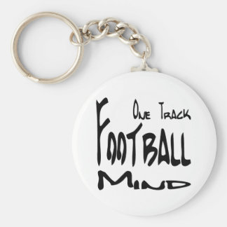 Football Design for Football Nuts Keychains