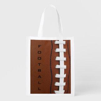 Football Design Reusable Tote