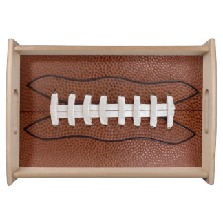 Football Design Sports Fan Big Game Party Supplies Serving Tray